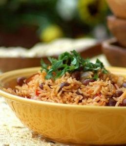 Рис с фасолью