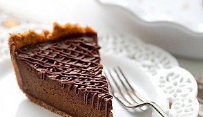 Тыквенный пирог с шоколадом
